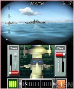 Steel Diver 3DS Screenshot