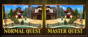 Zelda OoT 3D Normal vs Master Quest